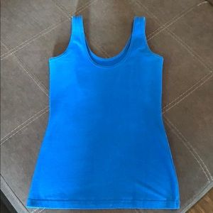 Tops - Maurices blue tank top